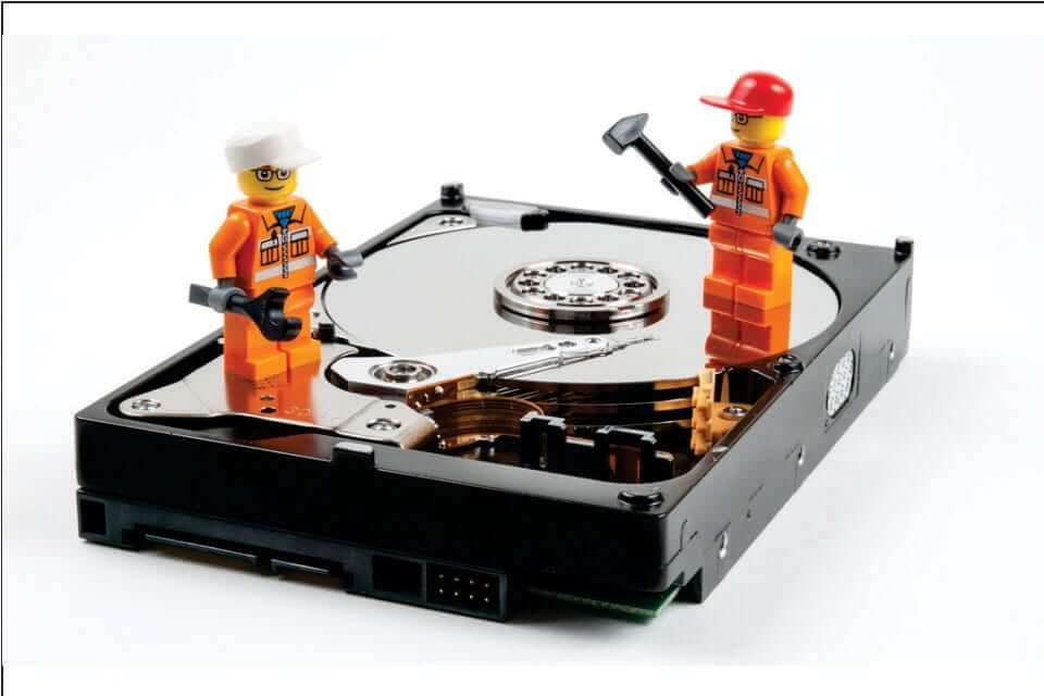 Scrap Hard Disk Repairing